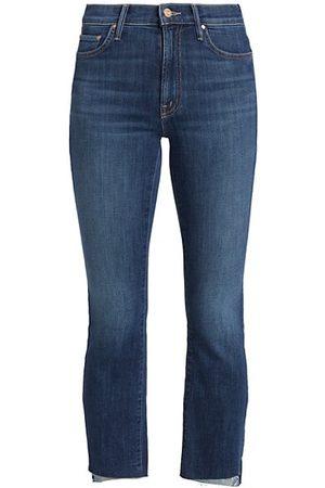 Mother Women Stretch - The Insider Crop Step Hem Jeans