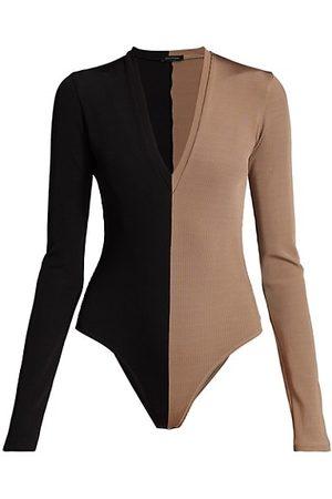 Goldsign Two-Tone Bodysuit