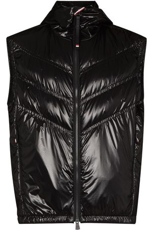 Moncler Men Winter Jackets - Chevron-quilted padded gilet