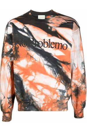 ARIES Sweatshirts - No Problemo tie-dye sweatshirt