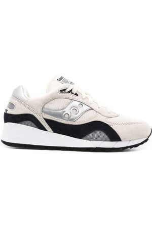 Saucony Womens Shadow 6000 Trainers Antique / Silver