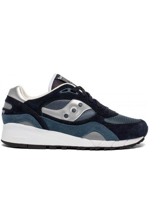 Saucony Womens Shadow 6000 Trainers Navy / Silver