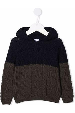KNOT Boys Hoodies - Herbet cable-knit hoodie