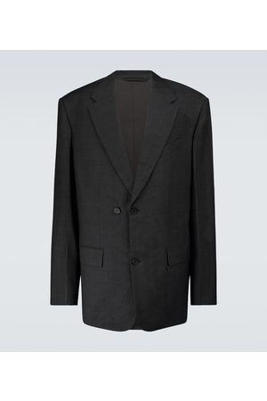 Balenciaga Double-breasted wool blazer