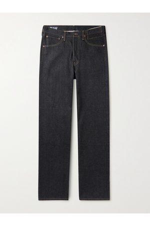 VISVIM Men Straight - Social Sculpture Straight-Leg Selvedge Jeans