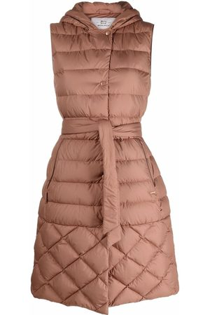 Woolrich Quilted sleeveless down coat