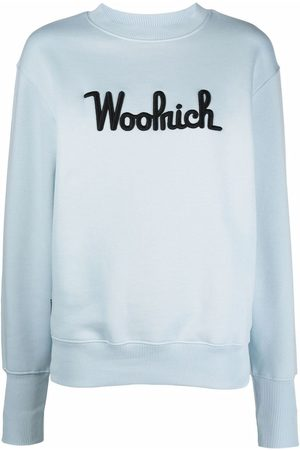 Woolrich Women Sweaters - Embroidered logo sweater