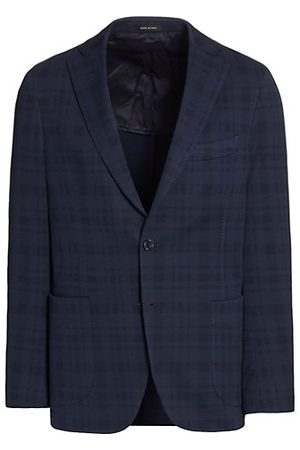 Saks Fifth Avenue COLLECTION Lightweight Wool & Cotton Blazer