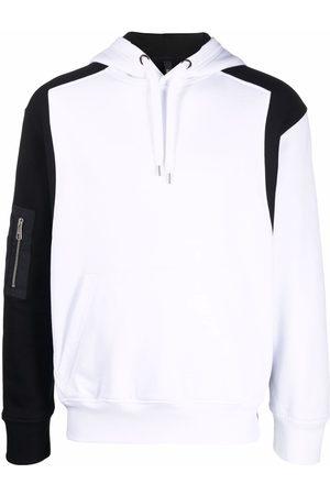 Neil Barrett Men Hoodies - Contrast-panel hoodie