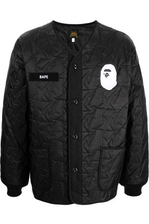 A Bathing Ape Men Winter Jackets - Together Strong padded jacket