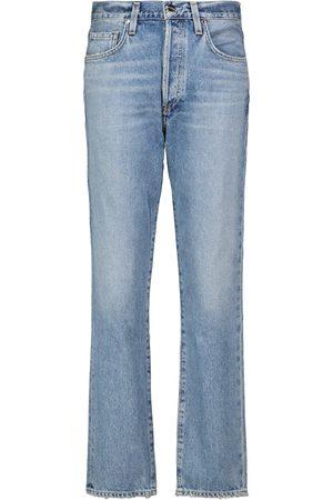 Goldsign Harper high-rise straight jeans