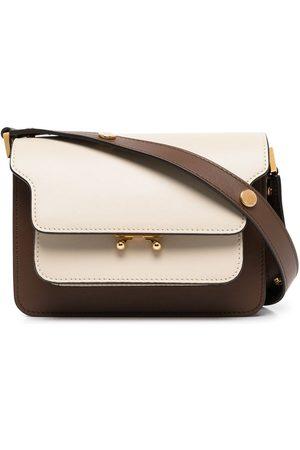 Marni Women Shoulder Bags - Trunk mini leather shoulder bag