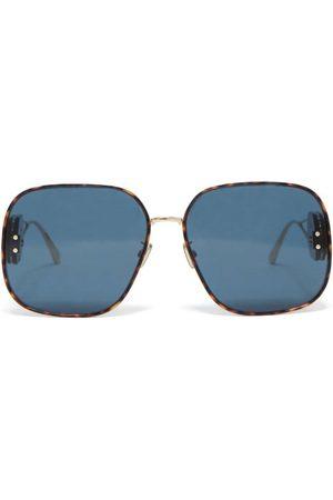 Dior Women Sunglasses - Bobby R2u Square Metal Sunglasses - Womens