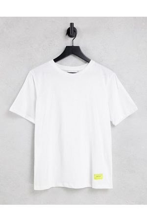 Gestuz Women Short Sleeve - Liv boxy t-shirt in white