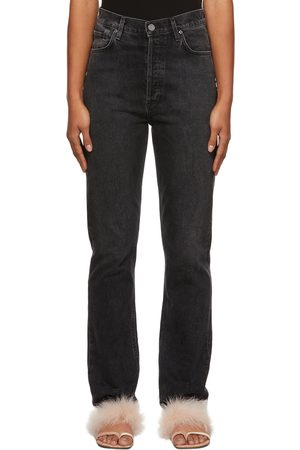 Goldsign Women Jeans - Grey 'The Lawler' Jeans