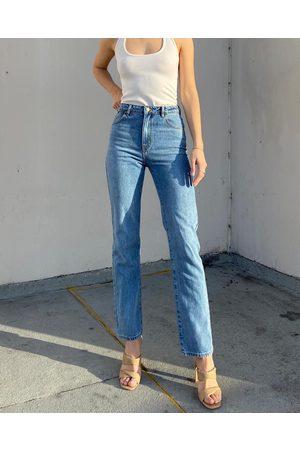 Dazie Arora Slim Fit Jeans - Slim (Mid Wash) Arora Slim Fit Jeans