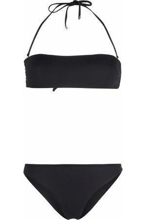 Manokhi Women Bikinis - Halterneck bandeau-style bikini set