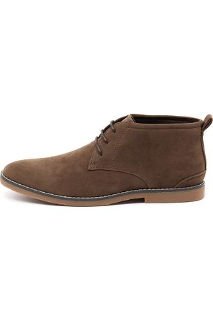 Raglan Taupe Boots Mens Shoes Casual Ankle Boots