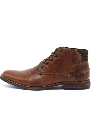 Chambers Cognac Boots Mens Shoes Casual Ankle Boots