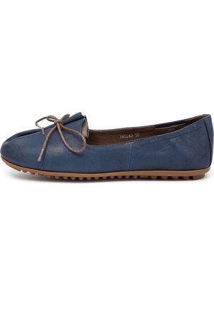 Ballad Navy Shoes Womens Shoes Casual Flat Shoes
