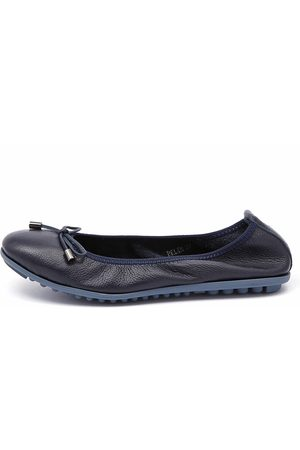Belin Navy Shoes Womens Shoes Casual Flat Shoes