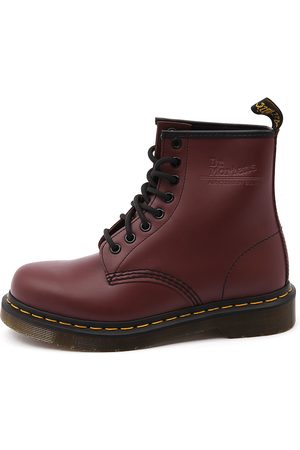 1460 8 Eye Boot Cherry Boots Womens Shoes Casual Ankle Boots