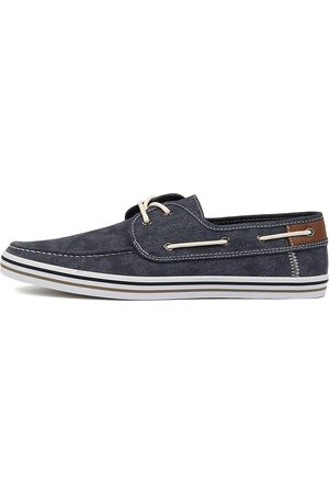 Dustin W R Navy Shoes Mens Shoes Casual Flat Shoes