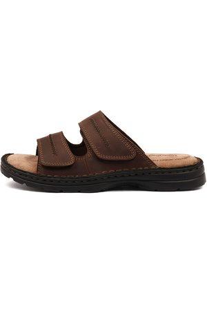 Hush Puppies Men Flat Shoes - Slider Sandals Mens Shoes Comfort Sandals Flat Sandals