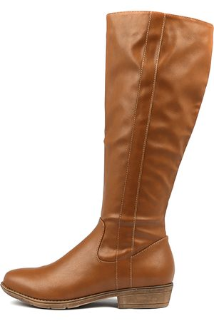 a1b8c1cfe99 I LOVE BILLY Ronin Tan Boots Womens Shoes Casual Long Boots