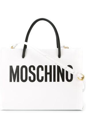 Moschino Women Tote Bags - Logo-print tote bag