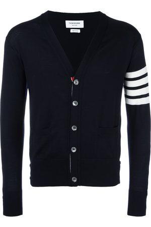Thom Browne Classic V-neck Cardigan In Fine Merino Wool