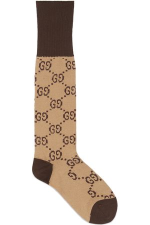 Gucci Men Socks - Interlocking G cotton socks