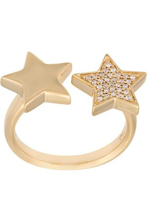 ALINKA Stasia' double star diamond ring