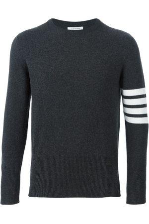 Thom Browne Men Sweatshirts - 4-Bar Cashmere Pullover
