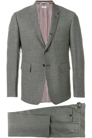 Thom Browne Classic Suit With Tie In 2ply Fresco