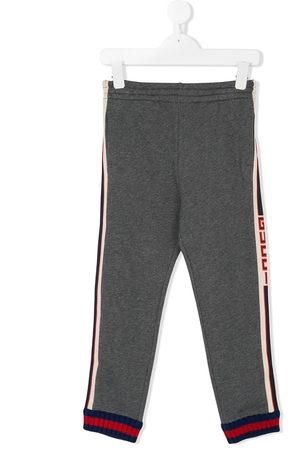 Gucci Logo stripe joggers