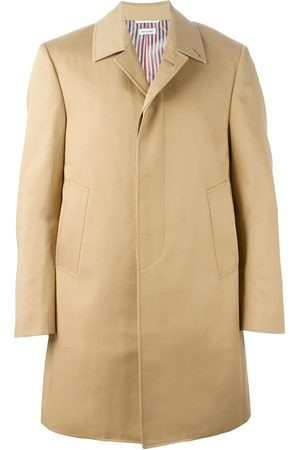 Thom Browne Point-collar overcoat