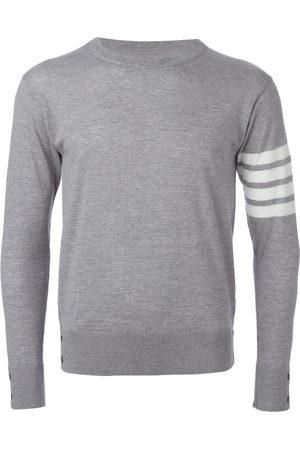 Thom Browne Men Sweatshirts - 4-Bar Merino Pullover