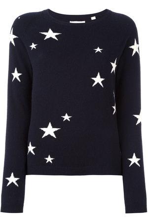 Chinti & Parker Cashmere star intarsia sweater