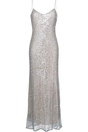 GALVAN Women Evening Dresses - Estrella spaghetti strap dress