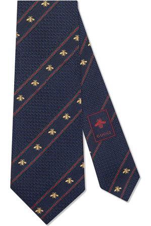 Gucci Bee Web silk tie