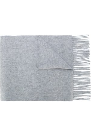 N.PEAL Knitted cashmere scarf
