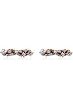 Suzanne Kalan Women Earrings - Diamond post earrings