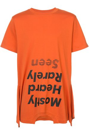 MOSTLY HEARD RARELY SEEN Upside down logo T-shirt