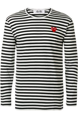 Comme des Garçons Round neck striped jumper
