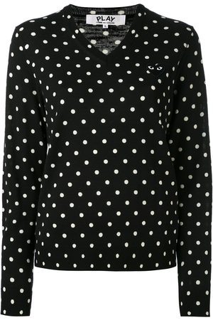 Comme des Garçons Women Jumpers & Sweaters - Polka dot knitted sweater