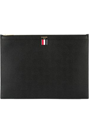 Thom Browne Large zipper laptop holder
