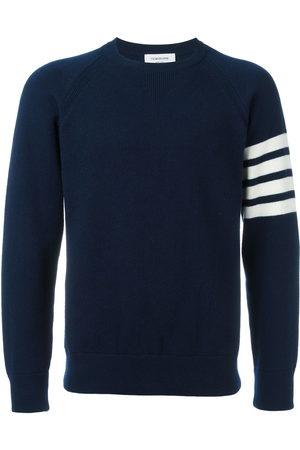 Thom Browne 4-Bar crew neck cashmere jumper