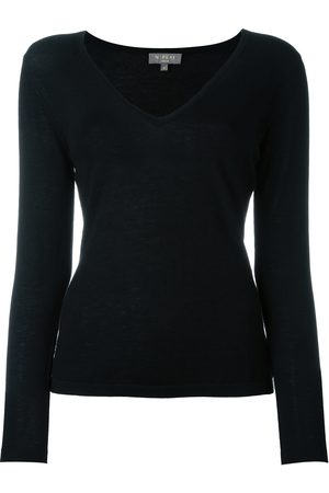 N.PEAL Women Sweaters - Cashmere superfine v-neck sweater