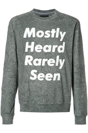 MOSTLY HEARD RARELY SEEN Logo print sweatshirt